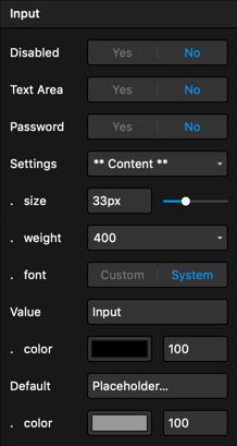 Content Options